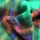 Ткань пальтовая мягкая Burberry стрейч крупная клетка на трикотажной основе