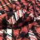 Шанель пальтовая шерстяная Louis Vuitton красный пье-де-пуль