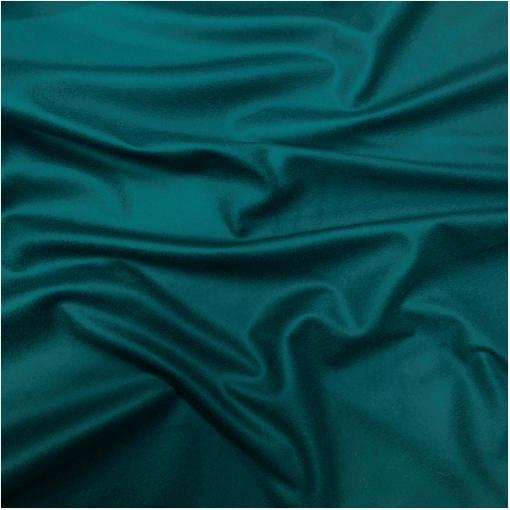 Ткань пальтовая шерстяная цвета насыщенной морской волны