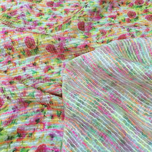 Шанель летняя нарядная яркие цветы