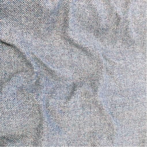 Шанель шелковая нарядная костюмно-плательная в сиренево-голубых тонах