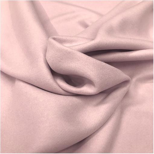 Ткань пальтовая шерстяная цвета пыльный розовый пуант