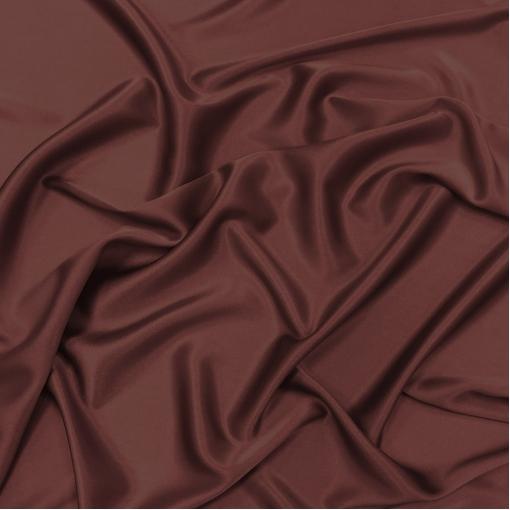 Шелк атласный цвета золотистое бордо
