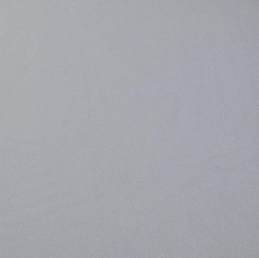 Пальтовая ткань серо-голубого цвета с кашемиром