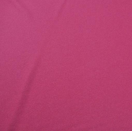 Пальтовая ярко-розово-сиреневая не ворсовая ткань