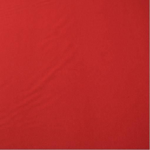 Пальтовая не ворсовая красно-кровавого цвета ткань