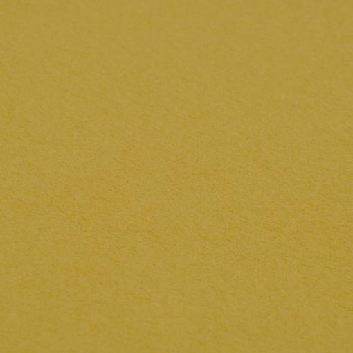Пальтовая шерсть желто-горчичного цвета
