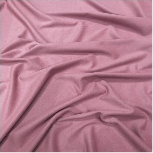 Ткань пальтовая шерсть с кашемиром холодного пудрово-розового цвета