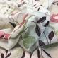 Шелк шифон принт  Blumarine с цветочной вышивкой
