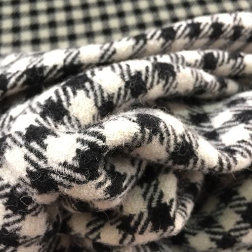Пальтово-костюмная шерсть в клетку принт Dolce&Gabbana