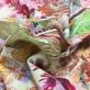 Трикотаж шерстяной плательный Gucci абстрактный принт в лососевых тонах