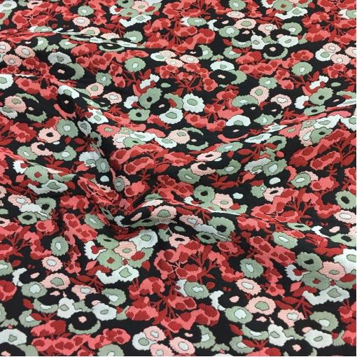 Жаккард нарядный дизайн Giamba абстрактные цветы с 3Д эффектом