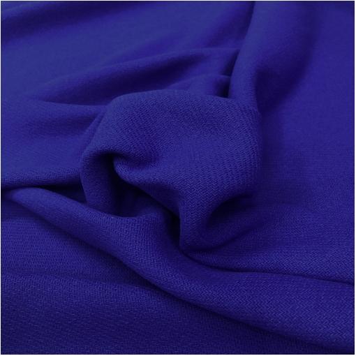 Ткань пальтовая шерсть с кашемиром double face насыщенного сине-сиреневого цвета