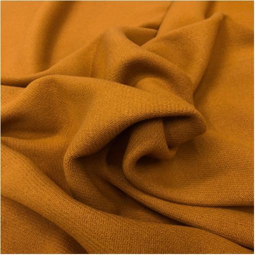 Ткань пальтовая шерсть с кашемиром double face плотного горчичного цвета