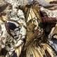 Жаккард DIOR сафари в бежево-терракотовых тонах