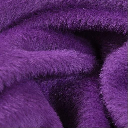 Пальтовая сиреневая ткань с небольшой ворсой