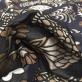Жаккард принт Gucci узоры на сине-черном фоне