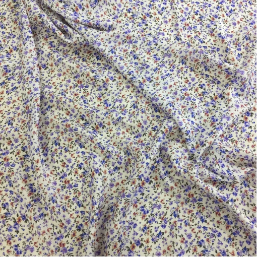 Шелк тонкий атласный принт Pierre Cardin бабушкин сундук на белом фоне