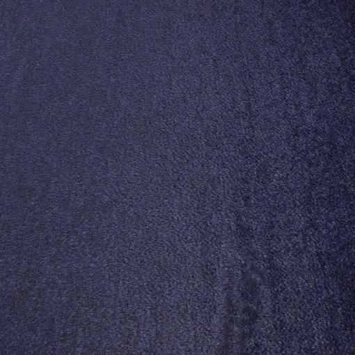 Пальтовый черно-синий бобрик