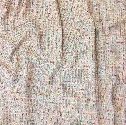 Шанель летняя нарядная нежно-розового тона