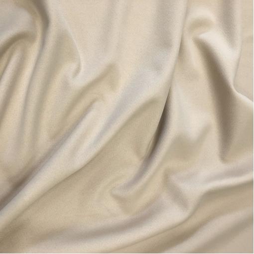 Шерсть пальтовая двойная (doubleface) MaxMara цвета миндального молока