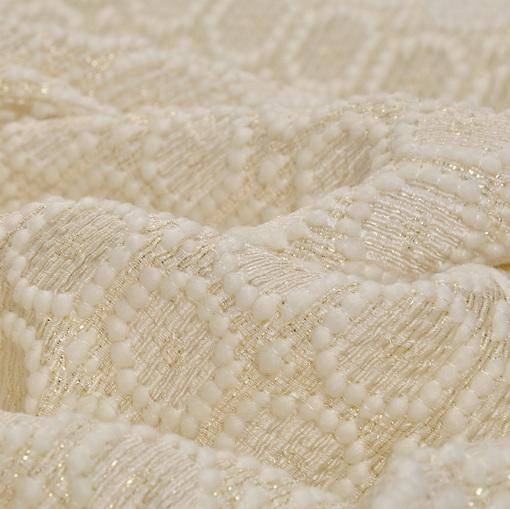 Костюмно-пальтовый шерстяной жаккард