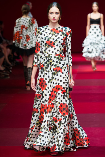 Шелк стрейч из коллекции Dolce & Gabbana атласная изнанка