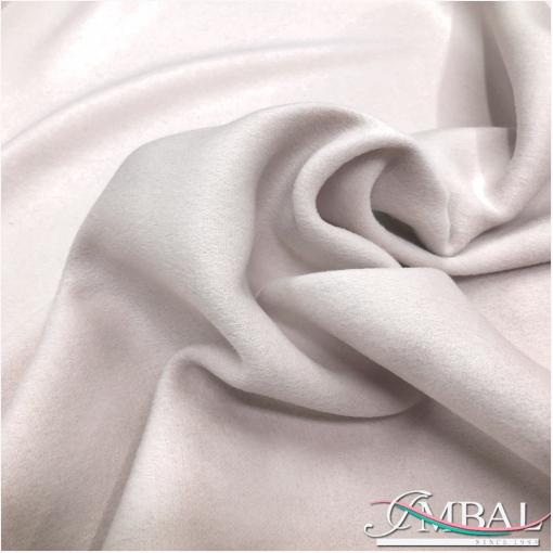 Ткань пальтовая с кашемиром Max Mara двойная пудрово-розового цвета