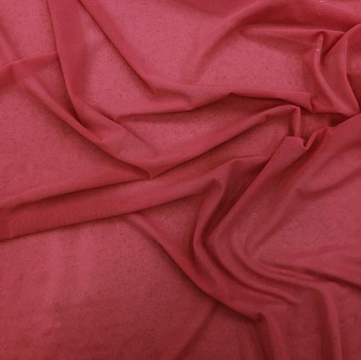 Сетка стрейч La Perla красного цвета