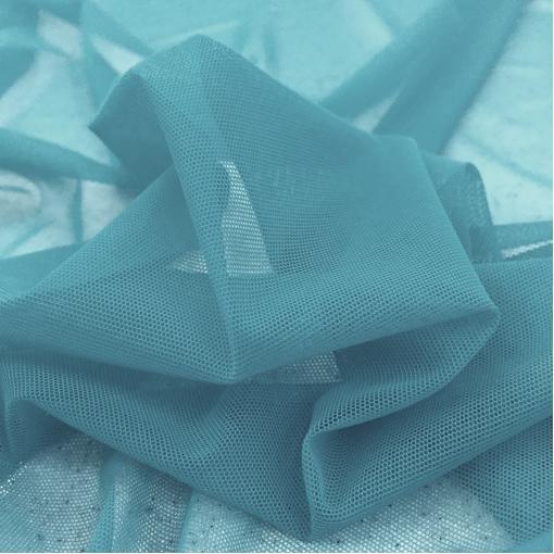 Сетка стрейч La Perla пыльно-голубого цвета